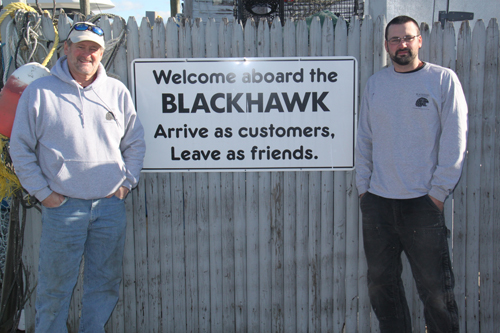 About the Blackhawk in Niantic, Connecticut