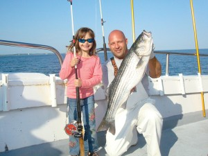 Daddy - Daughter Day Fishing on Black Hawk