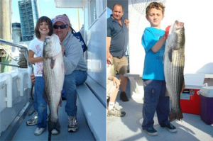 Take Kid Fishing on Black Hawk Party Fishing Boat