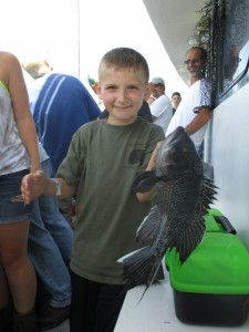 Catching Black Fish: Take Kid Fishing on Black Hawk